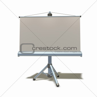 3d presentation equipment illustration