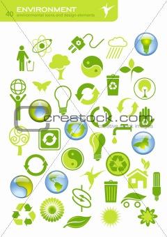 40 eco icons