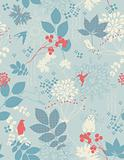 children's seamless floral background