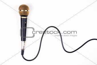 A dynamic microphone