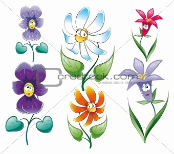 Flowers Characters