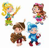 Season - characters