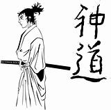 samurai comics style