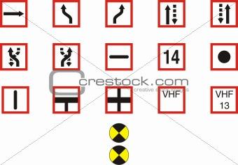 Waterway Signs, Mandatory