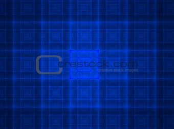 bright blue square texture background