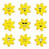 Sunny icon set