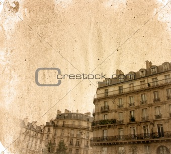 old-fashioned paris france