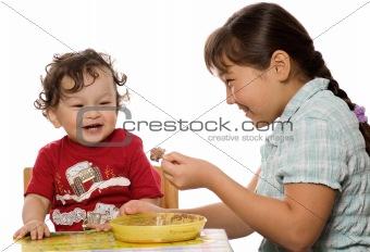 A tasty porridge.