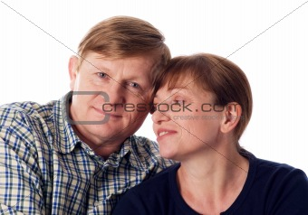 Amorous couple.