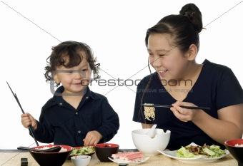 Asian food.