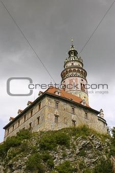 Cesky Krumlov Chateau Tower 1