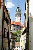 Cesky Krumlov Chateau Tower 2