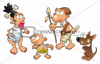 Prehistoric family