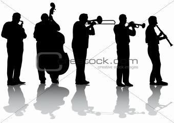 Jazz music concert