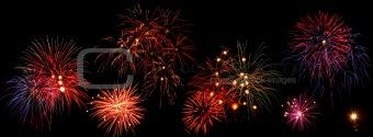 Fireworks line