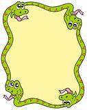 Snake frame 3