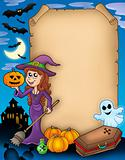 Halloween parchment 4