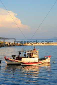 Fishing boat in Neos Marmaras