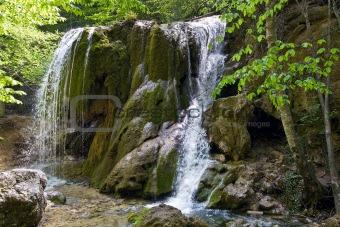 "Waterfall ""Sribni Struji"""