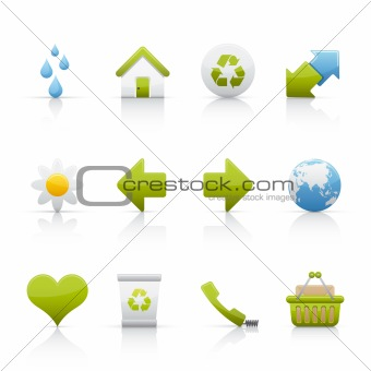 Icon Set - Ecology