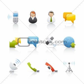 Icon Set - Internet and Comunications