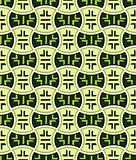 Retro japanese seamless pattern