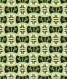 Retro japanese seamless pattern