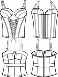 lady fashion corset
