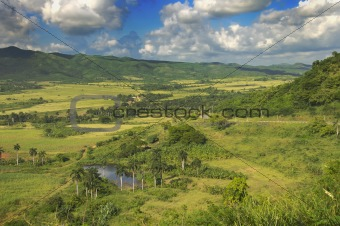 cuban countryside landscape