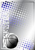 basketball golden poster background 1