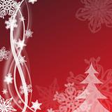 red christmas design