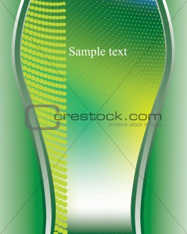 Background vector green