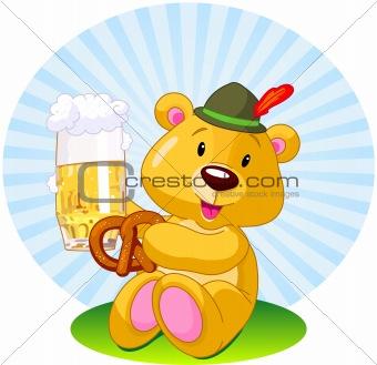 Oktoberfest bear