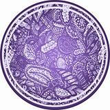 paisley flower element sphere