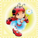 Funny Girl - Ladybug
