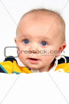 Little Baby Boy taken Closeup