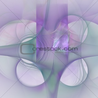 Abstract elegance background. Green - purple palette.