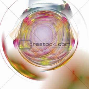 Abstract elegance background. Yellow - purple palette.