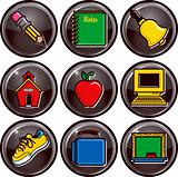 school icon buttons