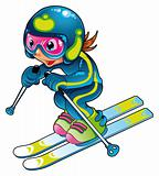 Baby Skier