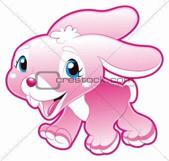 Baby Pink Rabbit