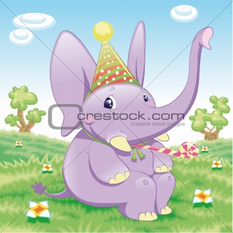 Baby Elephant - Party