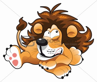 Lion Cartoon Characters on Image Description  Baby Lion  Cartoon And Vector Character