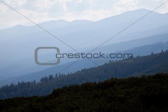 rila mountains background