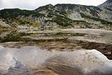 lake in rila mountains, bulgaria