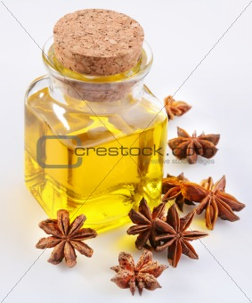 Aniseed oil with nuts