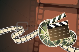 cinema abstract background