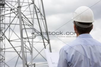 Architect on construction side