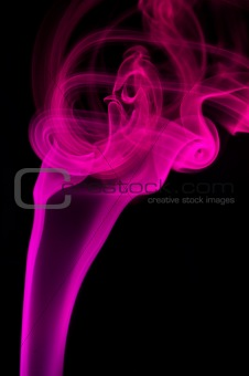 abstract red smoke .
