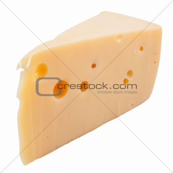 A cheese isolated